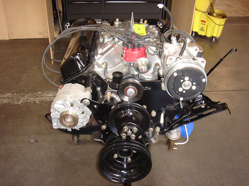 56 ford truck engine(800)